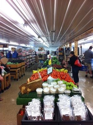 Wilson's Farm Market aisle