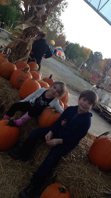 Chris & Emmy at Pumpkin Harvest Fest