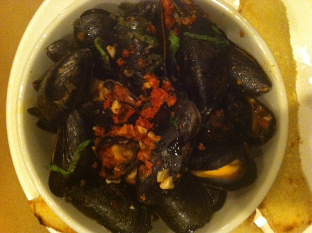 Mussels Pizzology