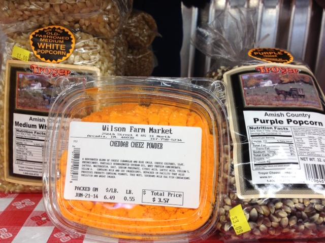 Wilson Farm Market popcorn