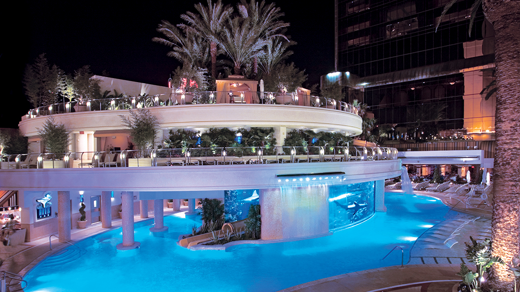 Golden Nugget Shark Pool