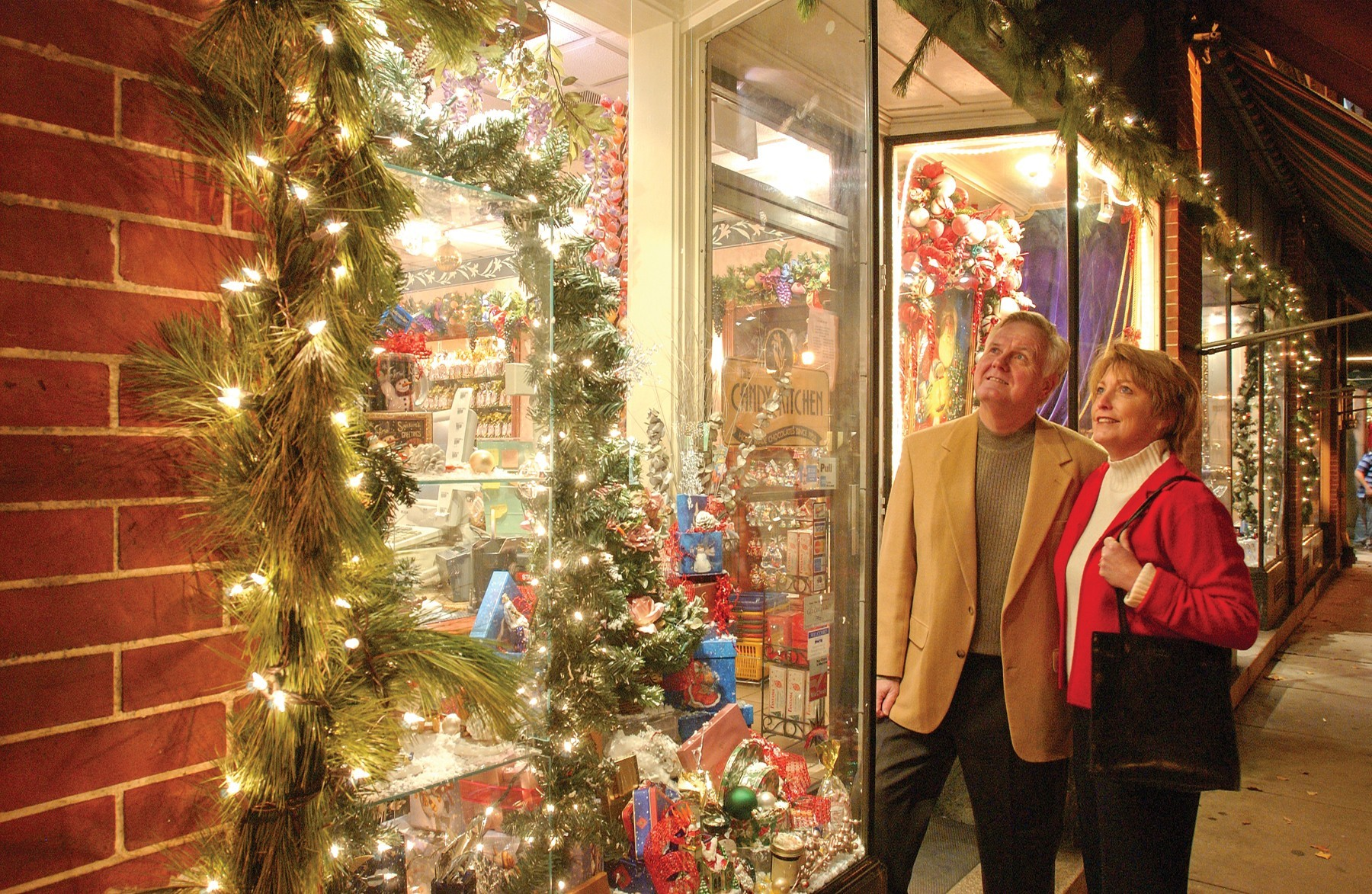 Holiday Shopping Downtown Frederick