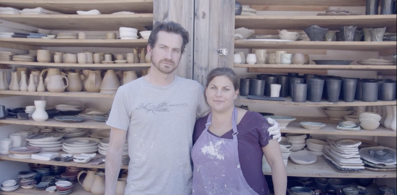 William Callnan III and Nikki Ballere Callnan, Ceramicists