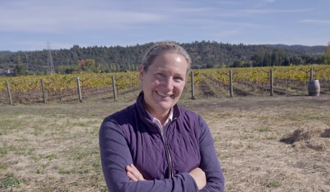 Pam Starr, Winemaker at Crocker & Starr