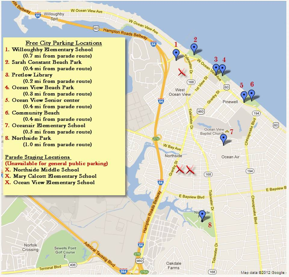 St. Patrick's Day Parade 2017 Map