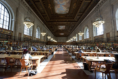 New York Public Library - Photo by Will Steacy