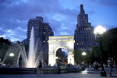Washington Square Park - Photo by Alex Lopez