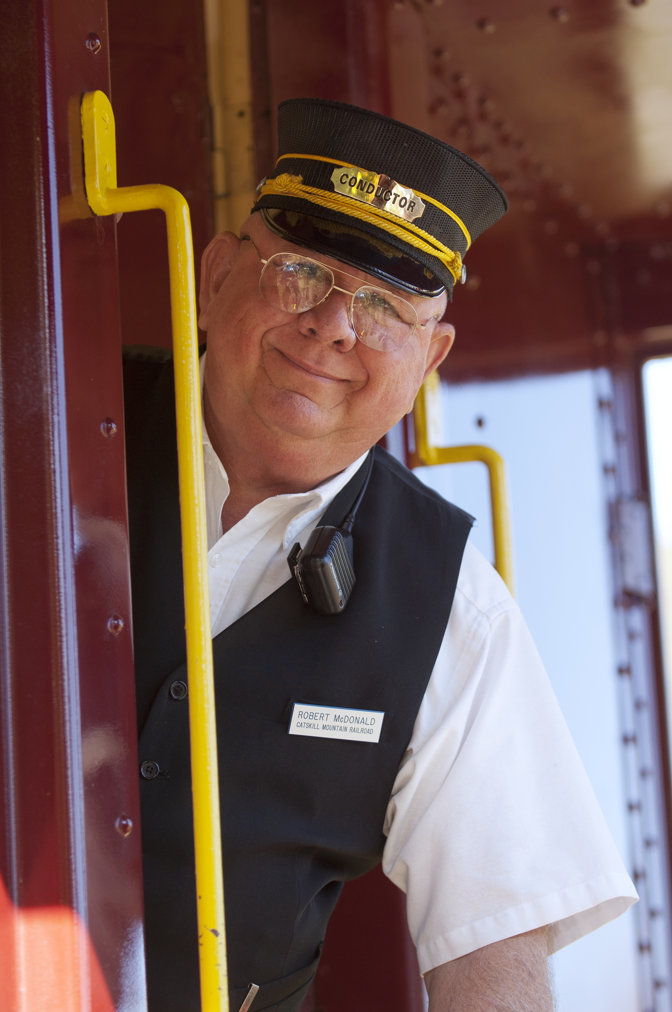 Conductor on Catskill Mountain Railroad
