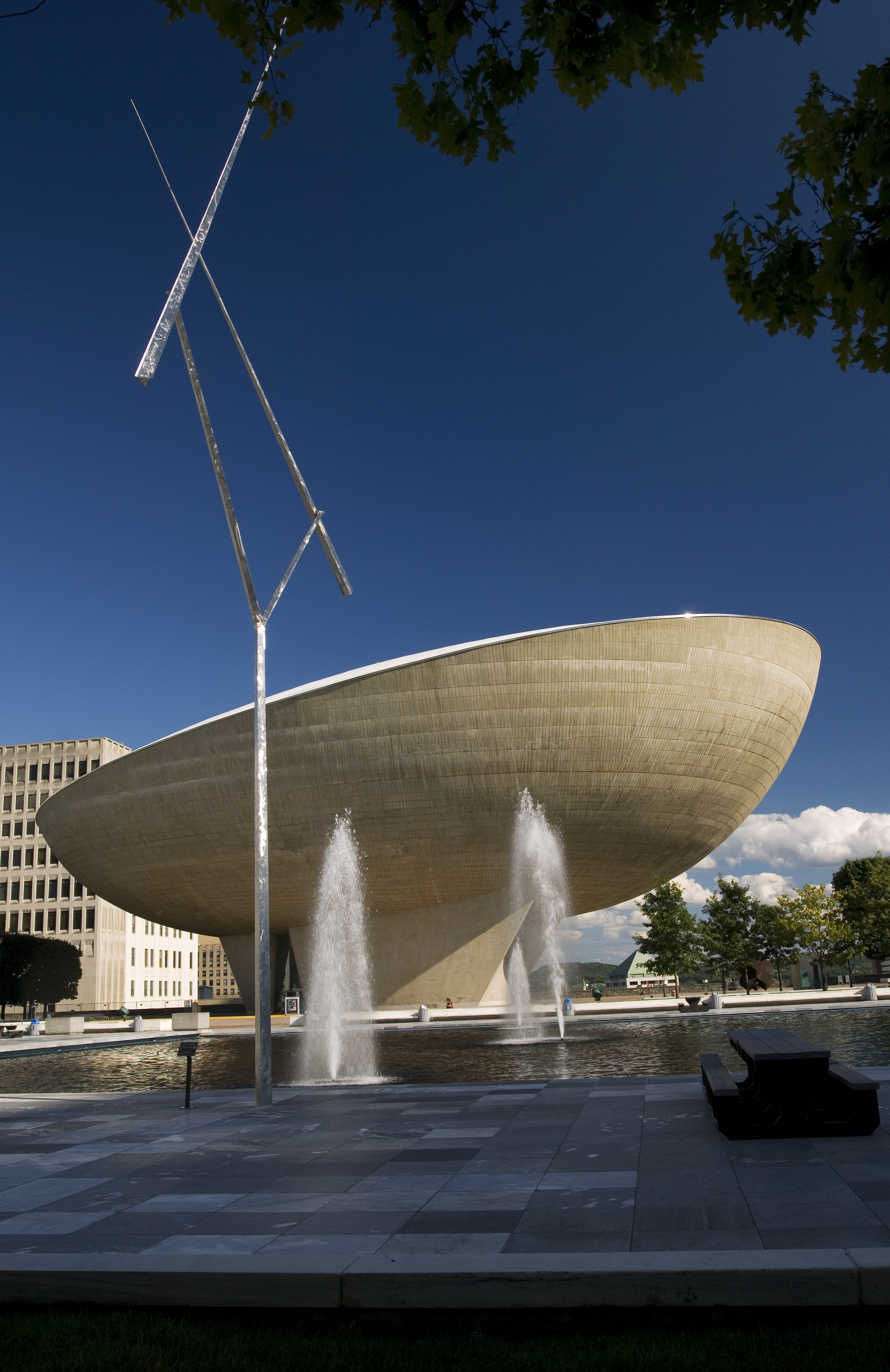 The Egg at Empire State Plaza, Albany