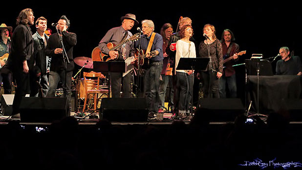 8th Annual Bob Dylan Birthday Celebration Dylan finale - Photo by Todd Gay