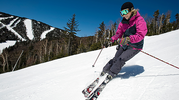 Gore Mountain Skiing - Photo by NYS ESD
