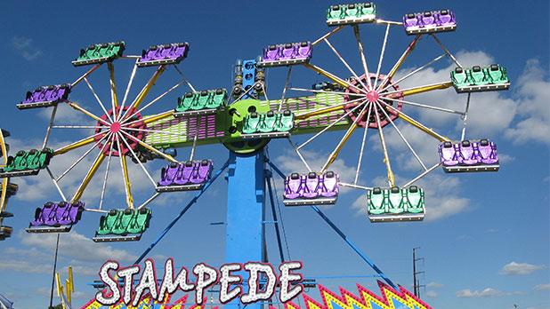 NYS Fair - Stampede Ride