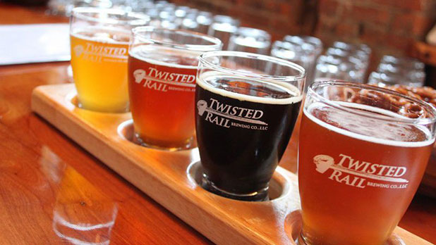 Twisted Rail Brewing Company - Photo Courtesy of Twisted Rail Brewing Company