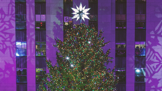 Rockefeller Center Tree Lighting; photo: Tishman Speyer Gregory Scaffidi