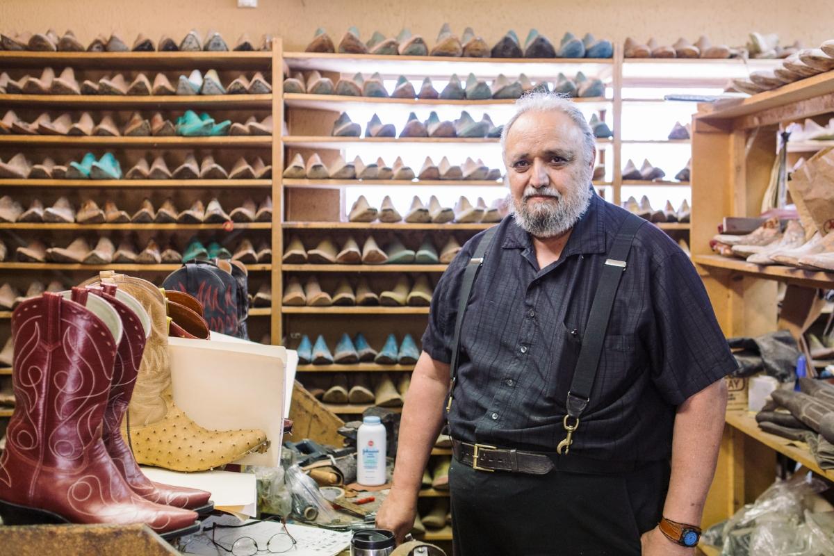 Phoenix bootmaker David Espinoza