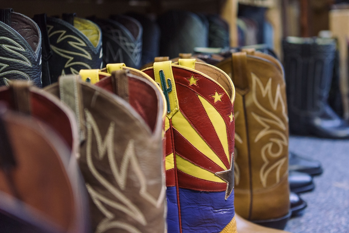 Boots made by David Espinoza