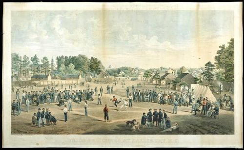 Baseball Lithograph