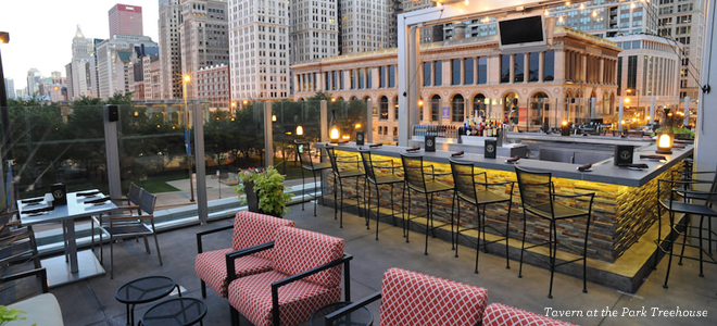 Chicago Patios Waterfront Restaurants Outside Picturesque Www