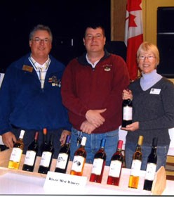 Randy LaMay of River  Myst Winery of Ogdensburg will be among the Clayton Taste of the Town  exhibitors with wines, cheeses, chocolates, and confections on February 27,  2010 at the Clayton Opera House.