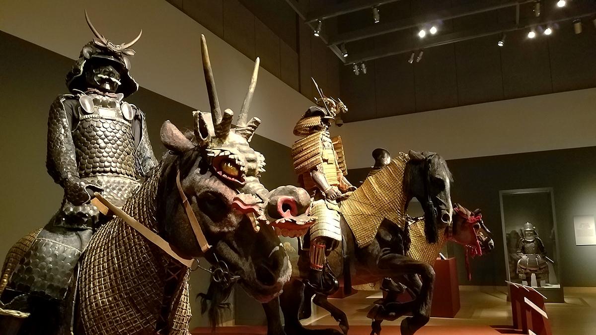 Samurai exhibit Phoenix Art Museum