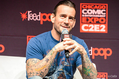 CM Punk at C2E2 Chicago Comic Convention