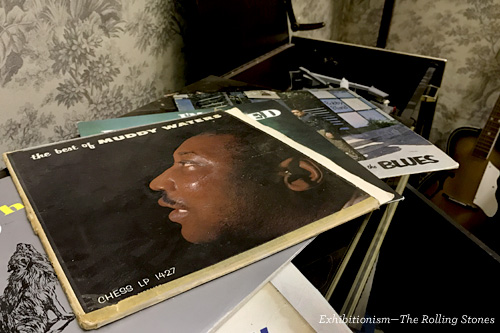 Muddy Waters album. Exhibitionism—The Rolling Stones, Chicago.