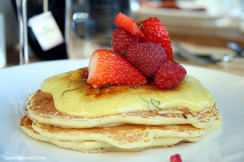 Creme Brulee Pancakes from Elate   Photo courtesy of Tammy Green