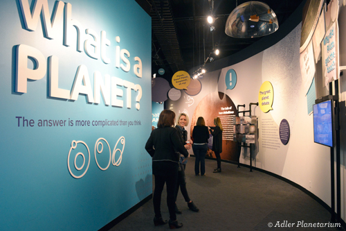 What is a Planet? Adler Planetarium Chicago exhibition