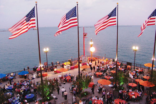 Navy Pier Fourth July