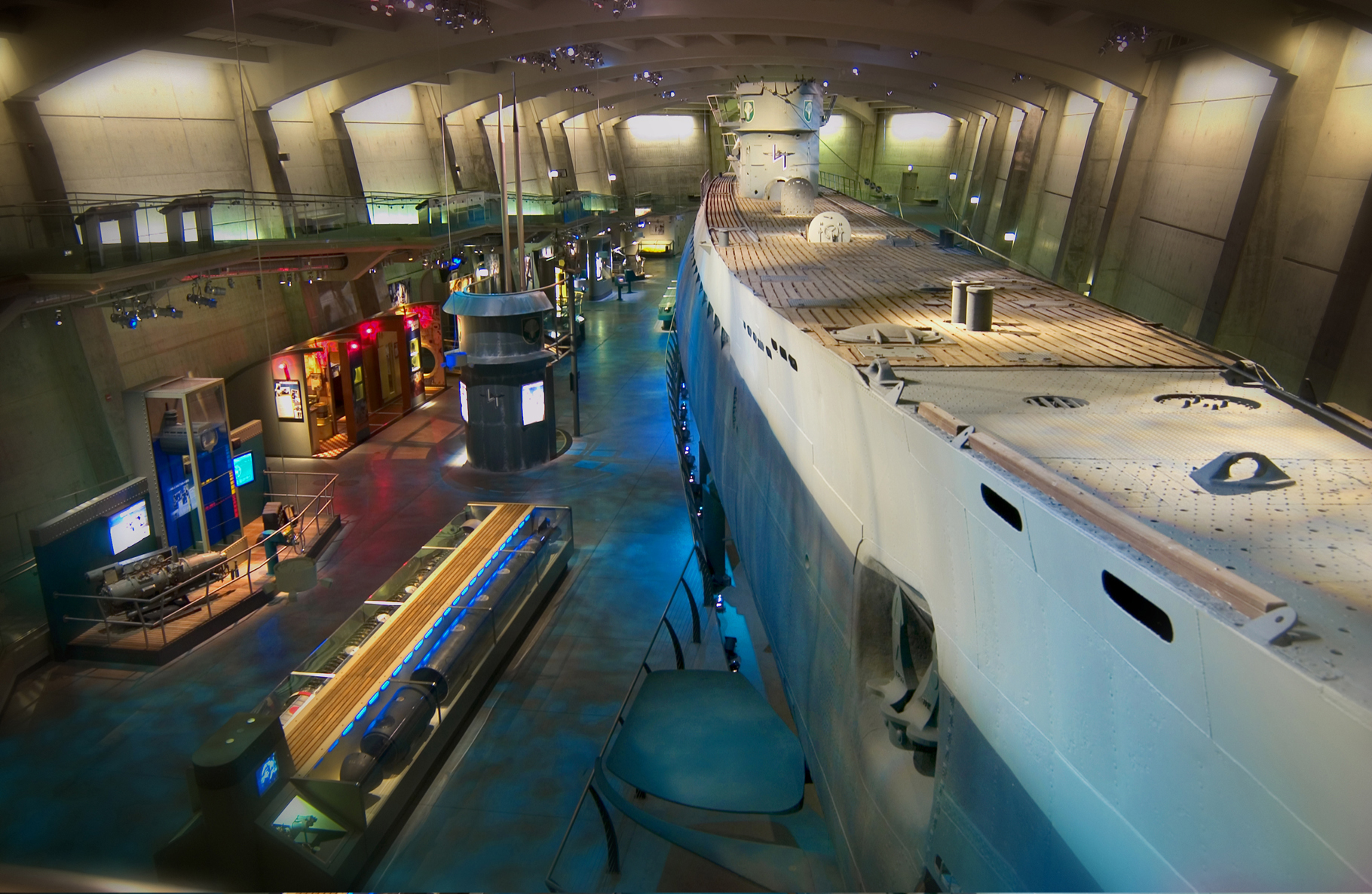 Museum of Science and Industry - U-505 Submarine