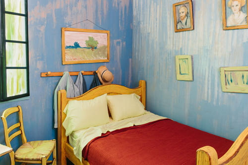 Van Gogh The Bedroom Airbnb