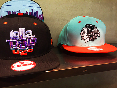 New Era x Lolla hats