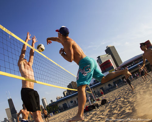 Volleyball at the Beach