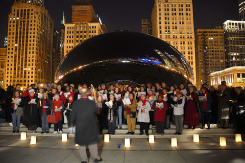 Caroling Cloud Gate Holidays