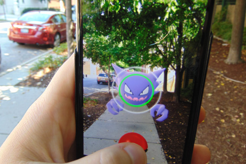 Pokemon Go Street