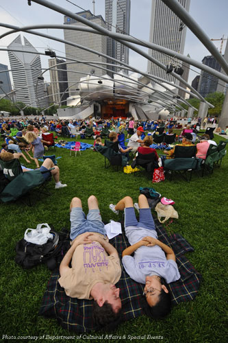 Great Lawn at Pritzker Pavilion