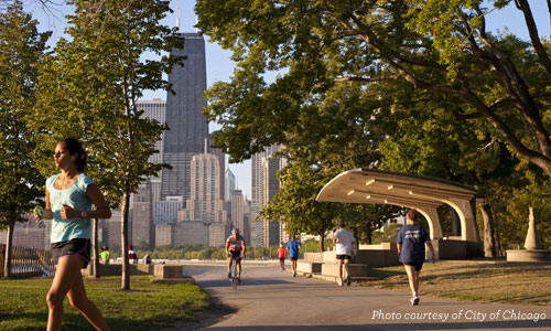 The Lakefront Trail - Chicago
