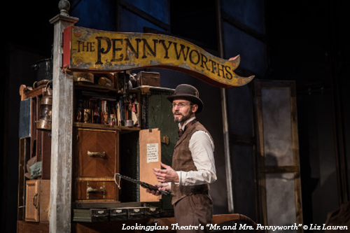 Mr. and Mrs. Pennyworth at Lookingglass Theatre