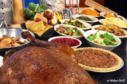 Weber Grill Thanksgiving