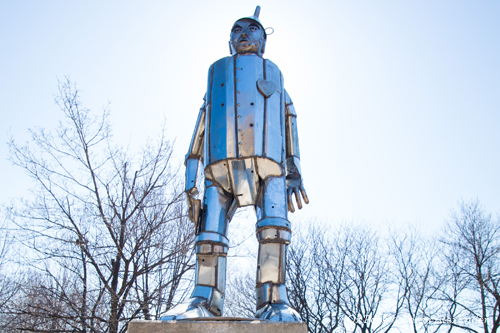 Tin Man in Oz Park Chicago
