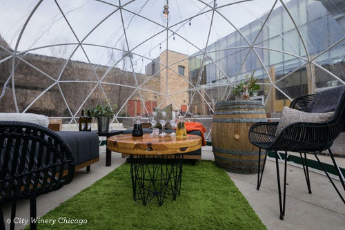 City Winery Heat Domes