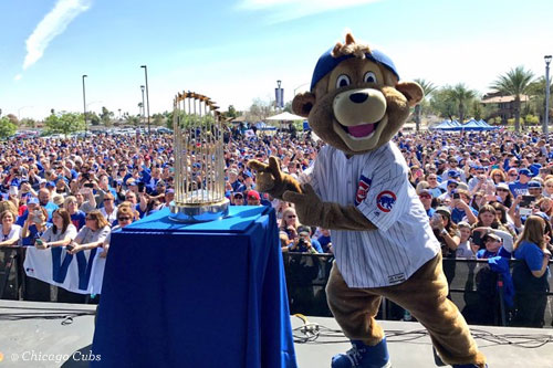 Cubs Trophy Tour