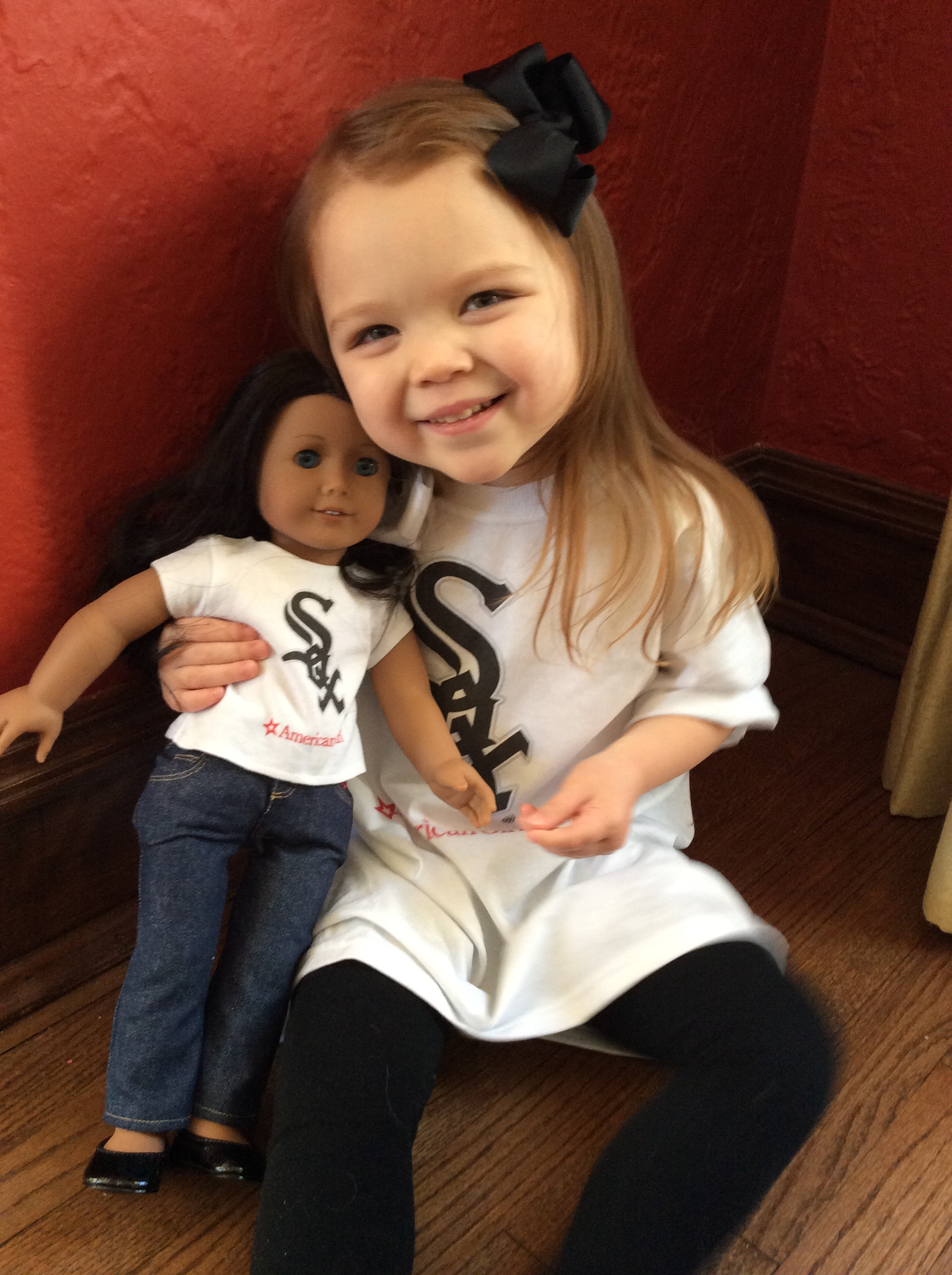 American Girl White Sox