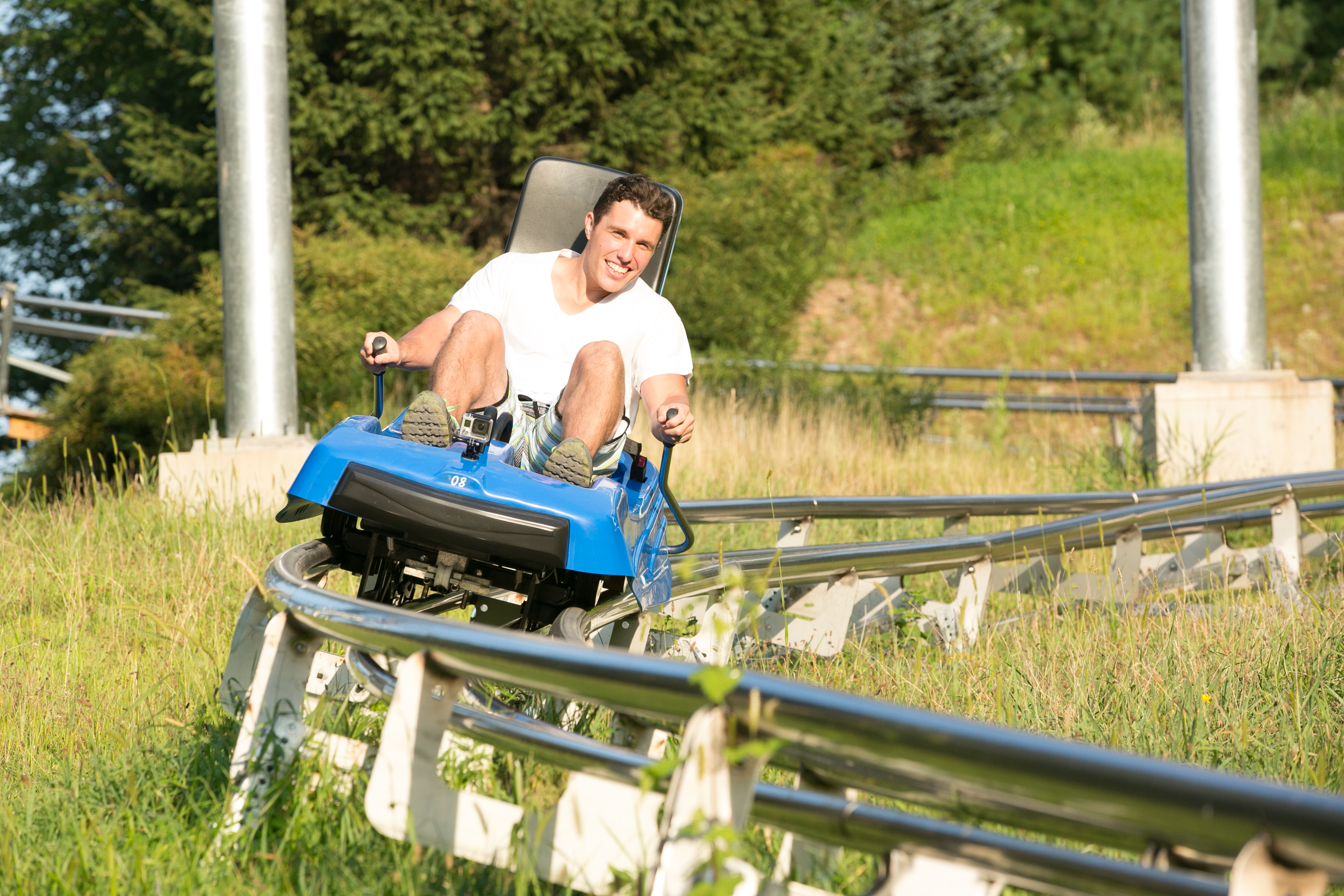 Mountain Coaster Fun at Camelback Mountain