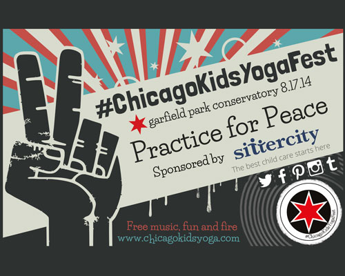 Chicago Kids and Family Yoga Fest