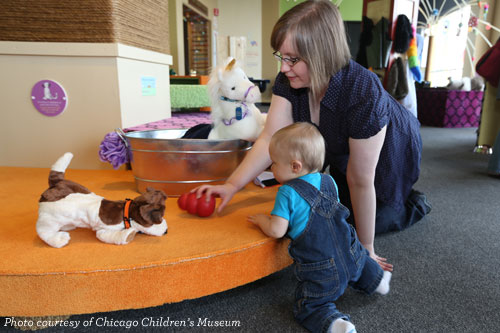 Ready, Pet, Go! at Chicago Children's Museum