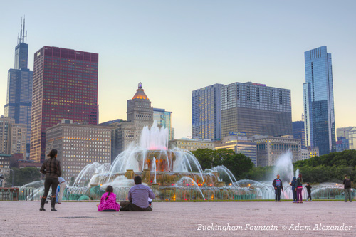 Buckingham Fountain Chicago Grant Park