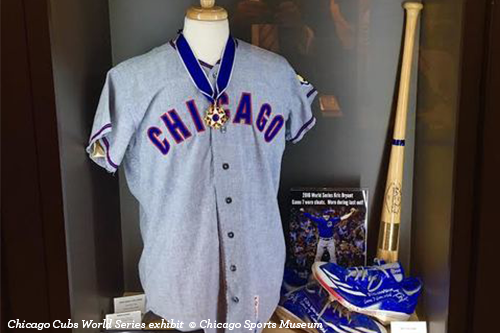 Chicago Cubs World Series 2016 exhibit