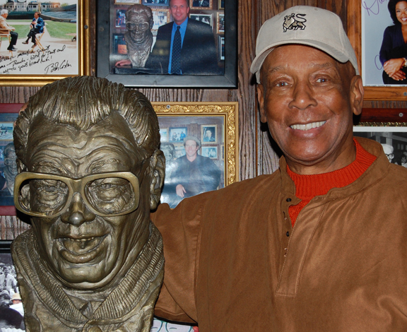 Ernie Banks dine like a local