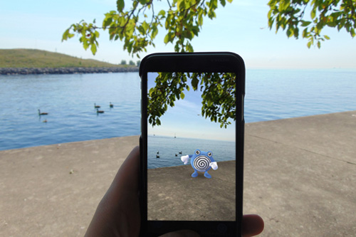 Pokemon Go Lakefront